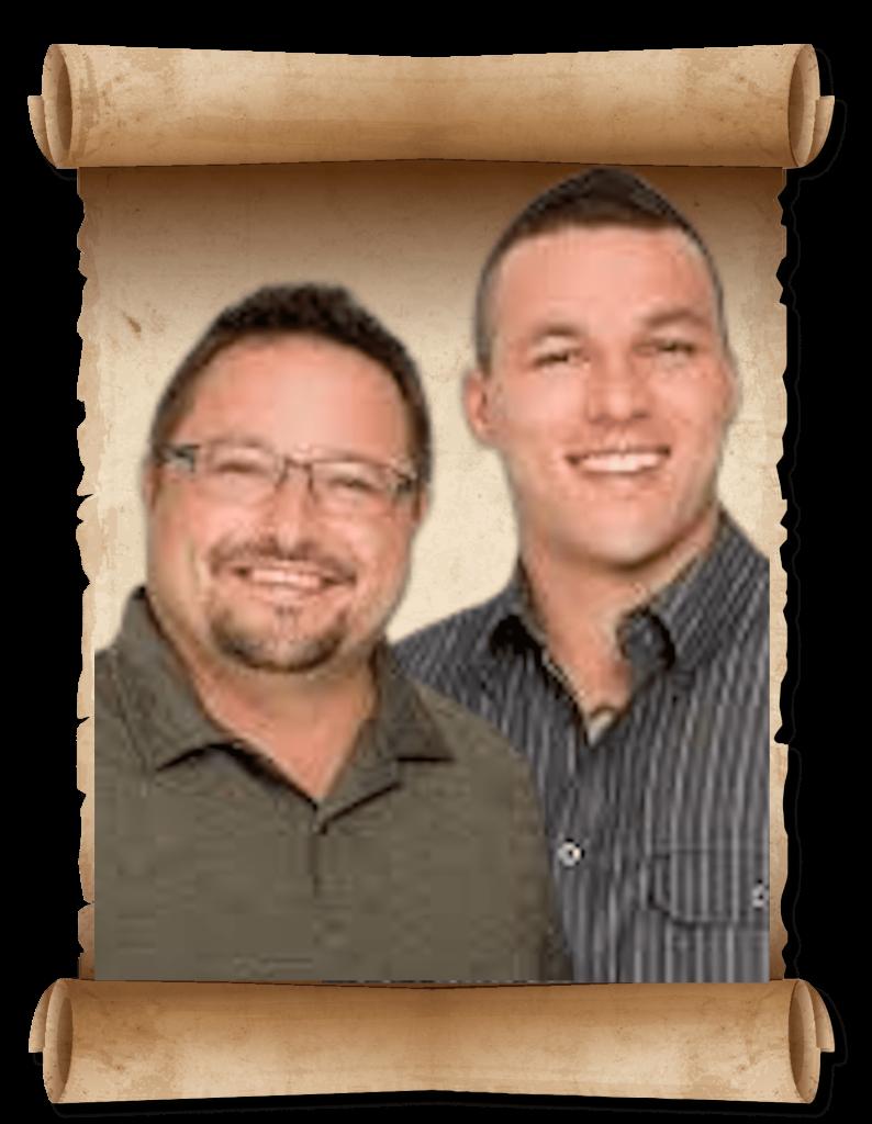 Tom Gaddis and Nick Ponte